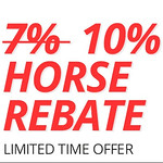 10% Horse Rebate at BetOnline