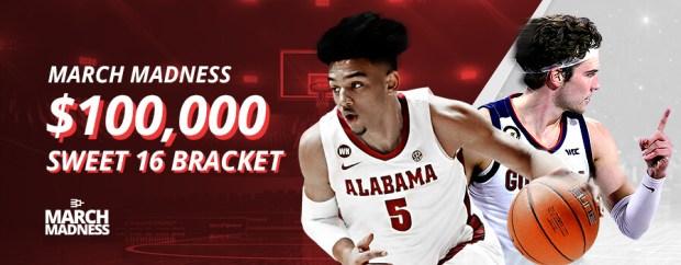 BetOnline $100,000 Sweet 16 Bracket Contest