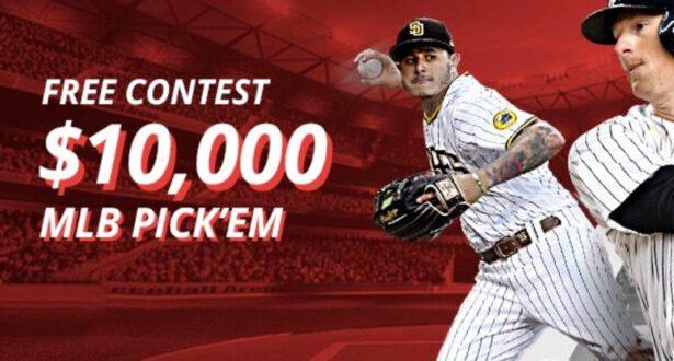 BetOnline $10,000 MLB Pick'em Contest