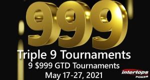 Triple 9 Tournaments at Intertops Poker
