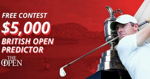 BetOnline $5K British Open Predictor Contest