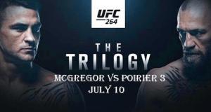 McGregor vs Poirier 3 at UFC 264