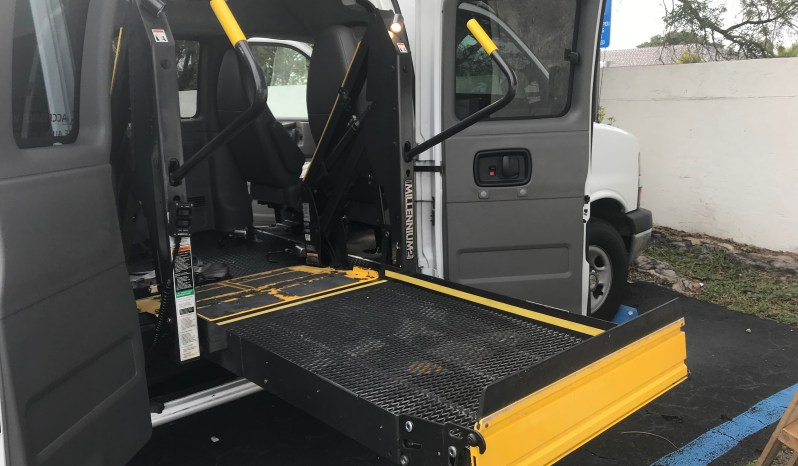 2010 Chevy Express Side Entry Wheelchair Van full