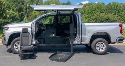 2019 Chevy Silverado 1500 LT – SETUP FOR WHEELCHAIR USER TO DRIVE TRUCK