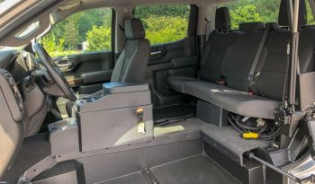 2019 Chevy Silverado 1500 LT – SETUP FOR WHEELCHAIR USER TO DRIVE TRUCK full