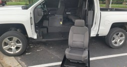 2018 Chevrolet Silverado 1500 DRIVERS SIDE WHEELCHAIR TRUCK