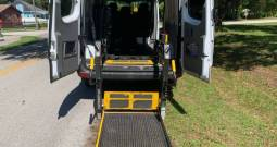 2014 Mercedes-Benz Sprinter Crew Rear Entry Wheelchair Van