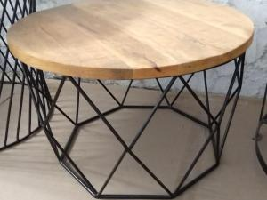 Coffee Table with wooden top