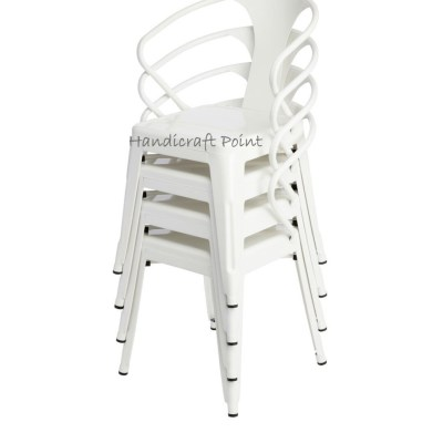 Iron Stackable Chair