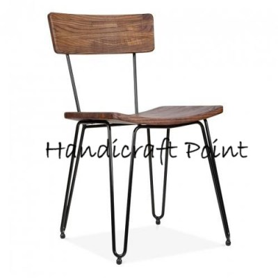 Desiner chair with hair pin leg
