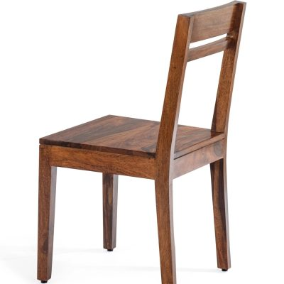 Solid Wood Contrast Chair