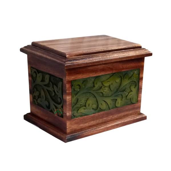 Wood Cremation Urns For Sale, Wooden Decorative Tableware, Timber Casket Urn