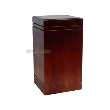 Rosewood Urns for Human or Pet Ashes, Wooden Funeral Cremation Urn – Burial Keepsake – Memorial Wood Box 12 Cu/inc
