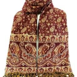 paisley woolen shawl