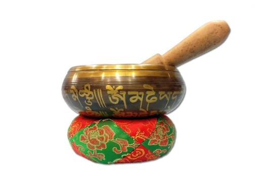 Tibetan Om Singing Bowl 1