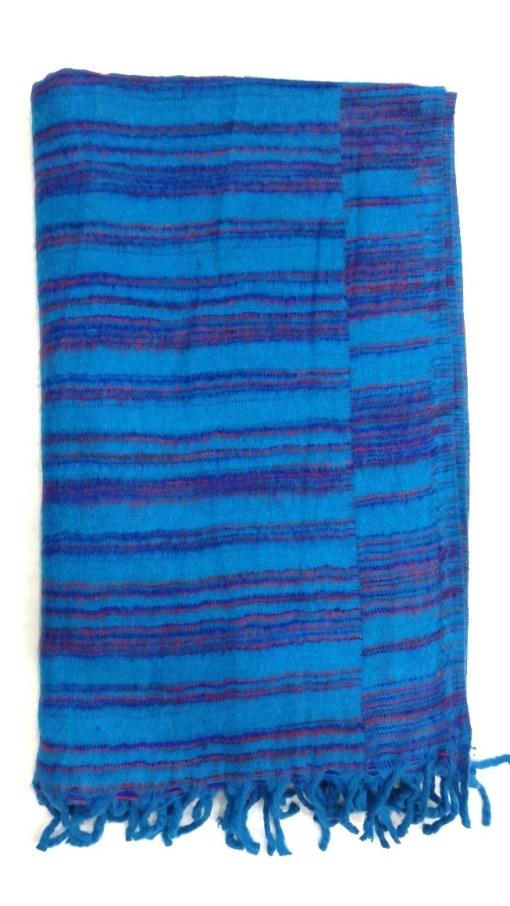 hand-loomed-yak-wool-blanket-blue-color-3