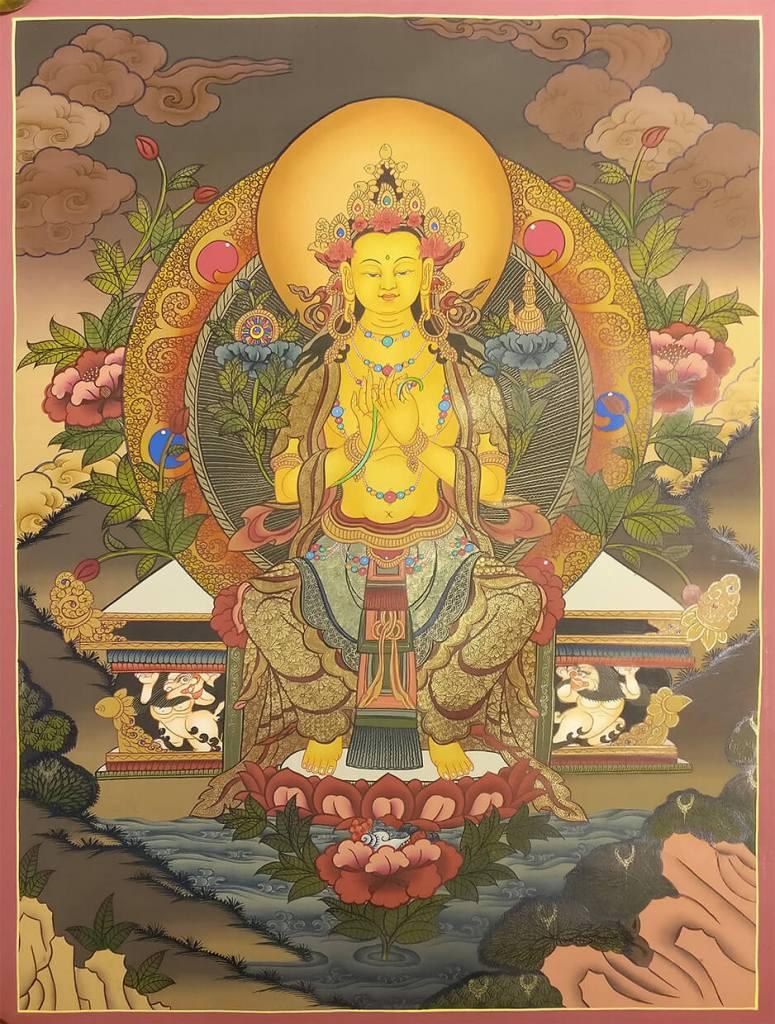 Future Buddha Maitreya Thangka