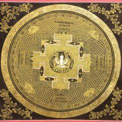Chenrezig Mandala Thangka
