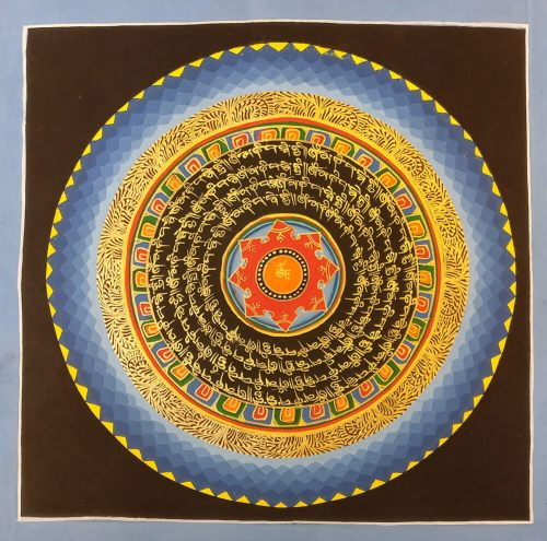 mandala thanka painting