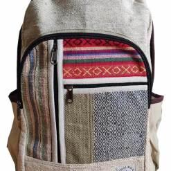 multi color hemp bag