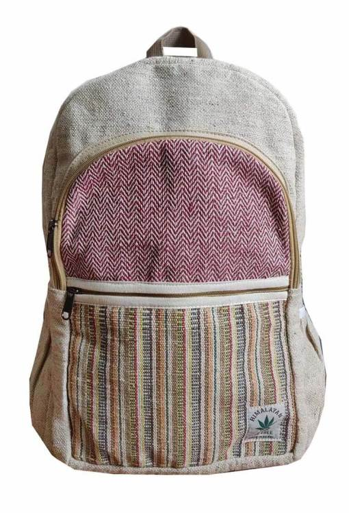 simple hemp bag