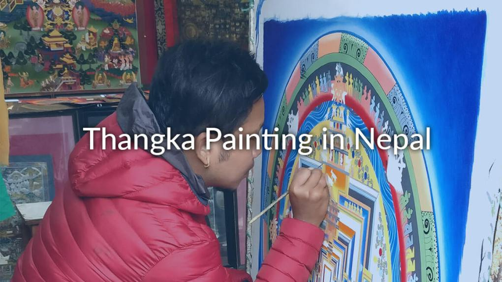 thangka painting nepal