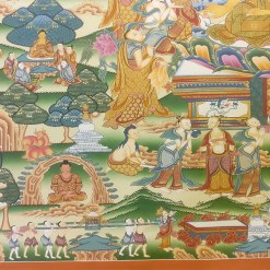 Life of Buddha Master Thangka 5
