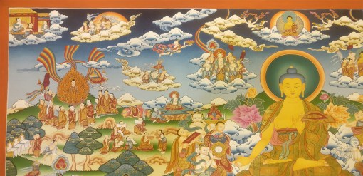Life of Buddha Master Thangka 2