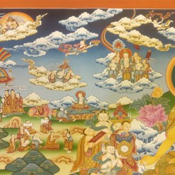 Life of Buddha Master Thangka 6