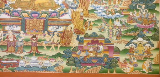 Life of Buddha Master Thangka 3