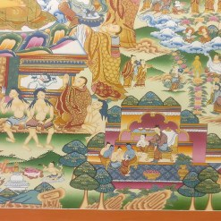 Life of Buddha Master Thangka 7