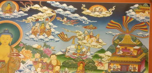 Life of Buddha Master Thangka 4