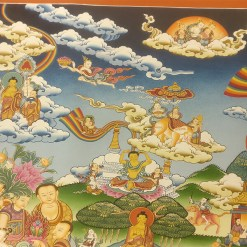 Life of Buddha Master Thangka 8