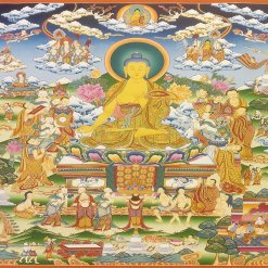 Life of Buddha Thangka Master Quality