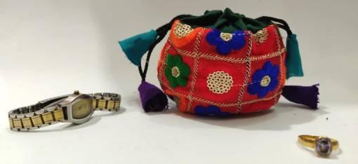 jewelry drawstring pouch bag
