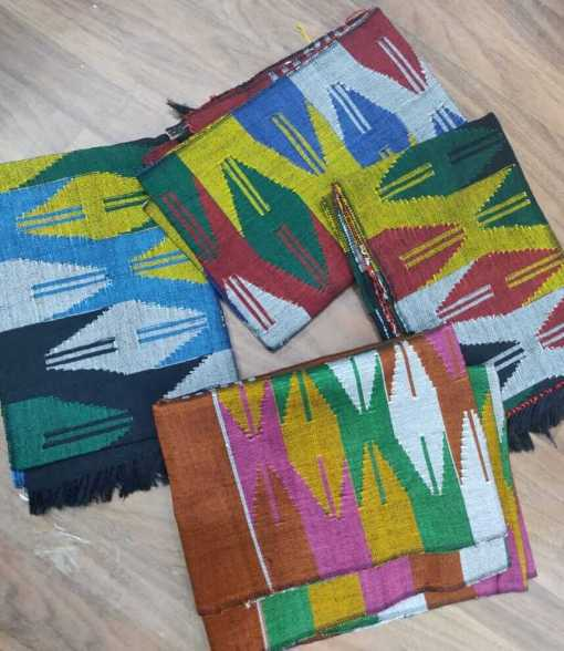 handmade nepali dhaka scarf