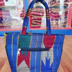handmade nepali dhaka tote bag