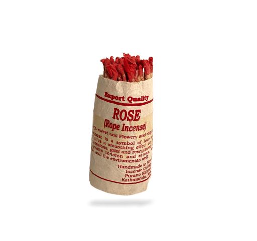 rose nepali rope incense