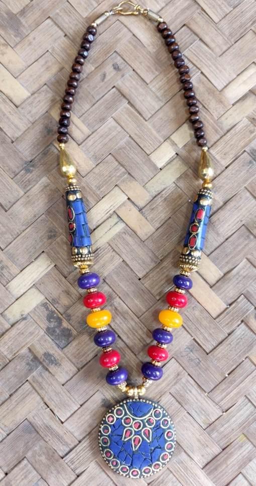 Tibetan Beads Necklace 6