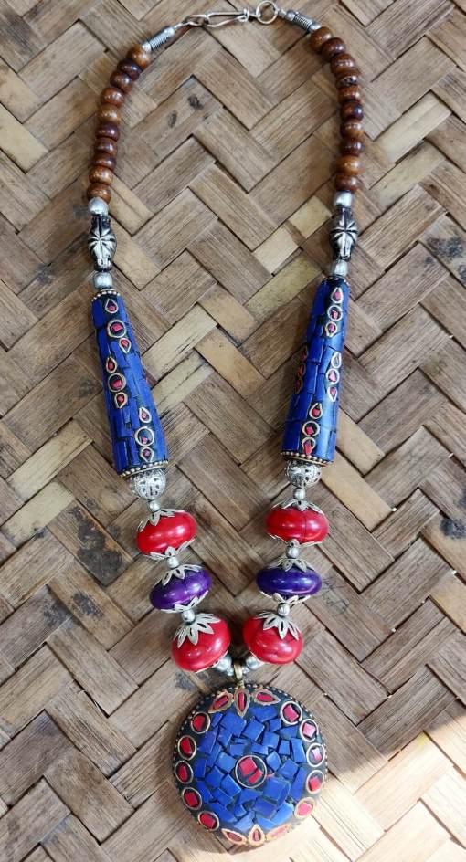 Tibetan Beads Necklace 1