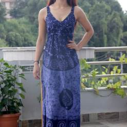 Batik Sleeveless Women Dress