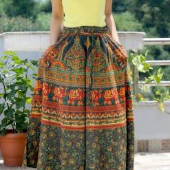 Janaki Cotton Skirt with Pocket
