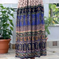 Paisley Wrinkle Women Skirt