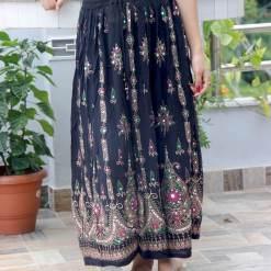 Krep Sitara Women Skirt