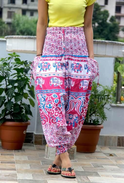Cotton Harem Trouser for women