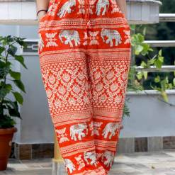 Rayon Printed Trouser