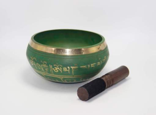 Lucky Symbol Singing Bowl