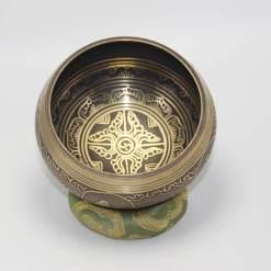 Hand Carved Mandala Singing Bowl