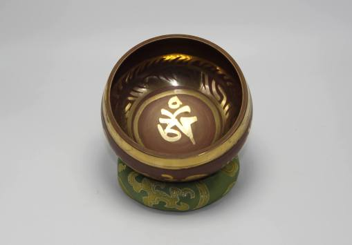 Handmade Om Singing Bowl