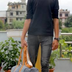 Hemp Travel Duffel Bag